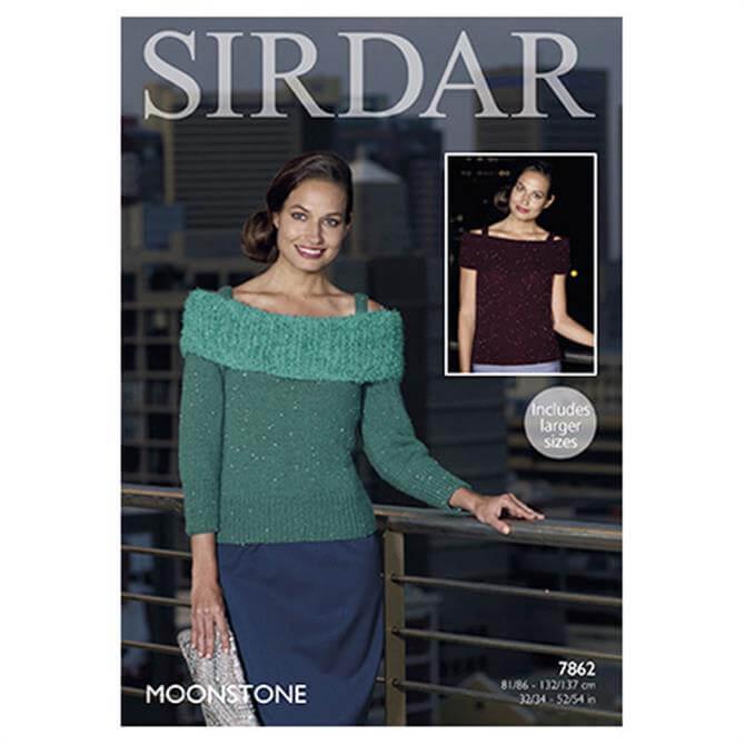 Sirdar Moonstone Pattern 7862