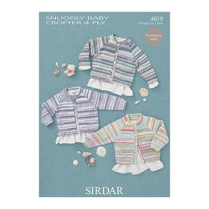 Sirdar Baby Crofter Pattern 4619