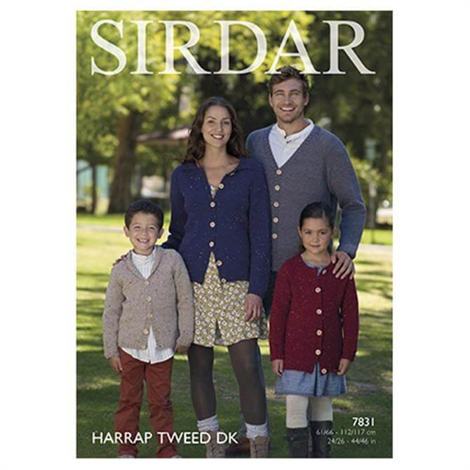 Sirdar Harrap Tweed Pattern 7831