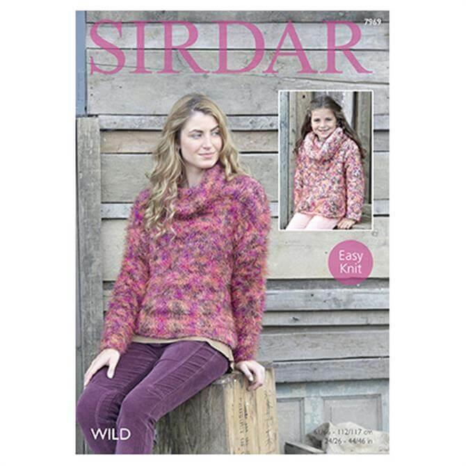 Sirdar Wild Yarn Pattern 7969