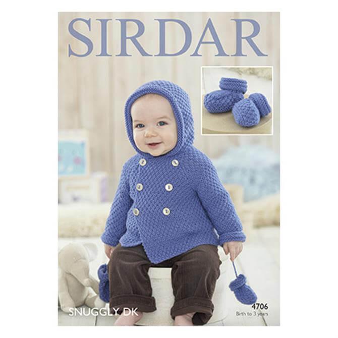 Sirdar Snuggly DK Pattern 4706