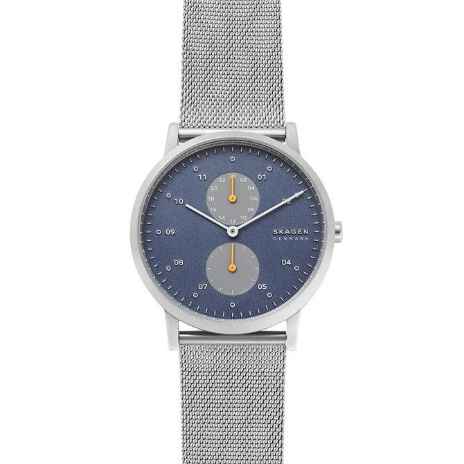 Skagen Kristoffer Silver Steel-Mesh Watch