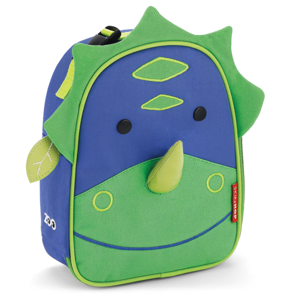 An image of Skip Hop Zoo Dinosaur Kids Lunch Bag