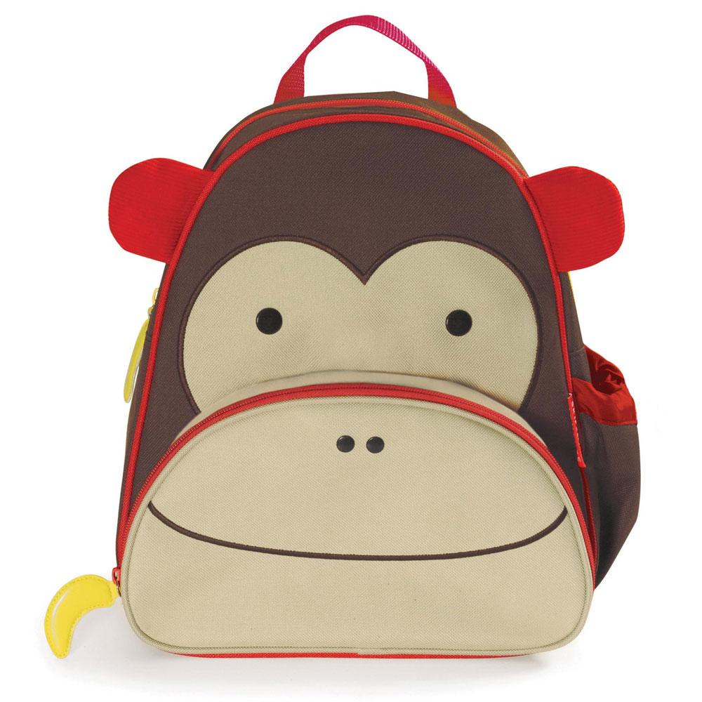 An image of Skip Hop Monkey Backpack