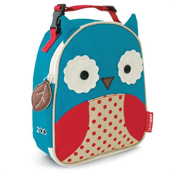 Skip Hop Zoo Owl Kids Lunch Bag