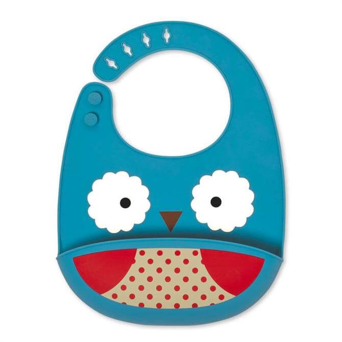 Skip Hop Owl Silicone Bib