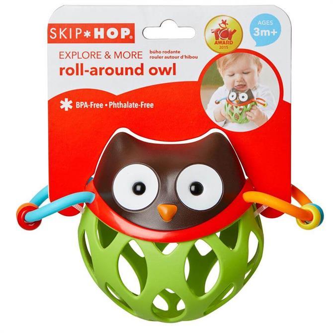 Skip Hop Roll Around Rattles Owl