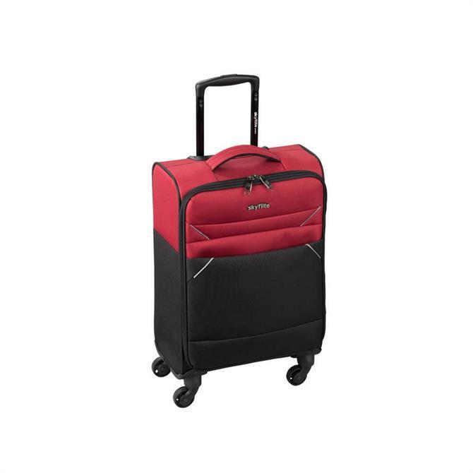 Skyflite Calypso Soft Cabin Dual Colour Suitcase