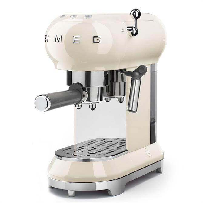 Smeg Espresso Coffee Machine: Cream