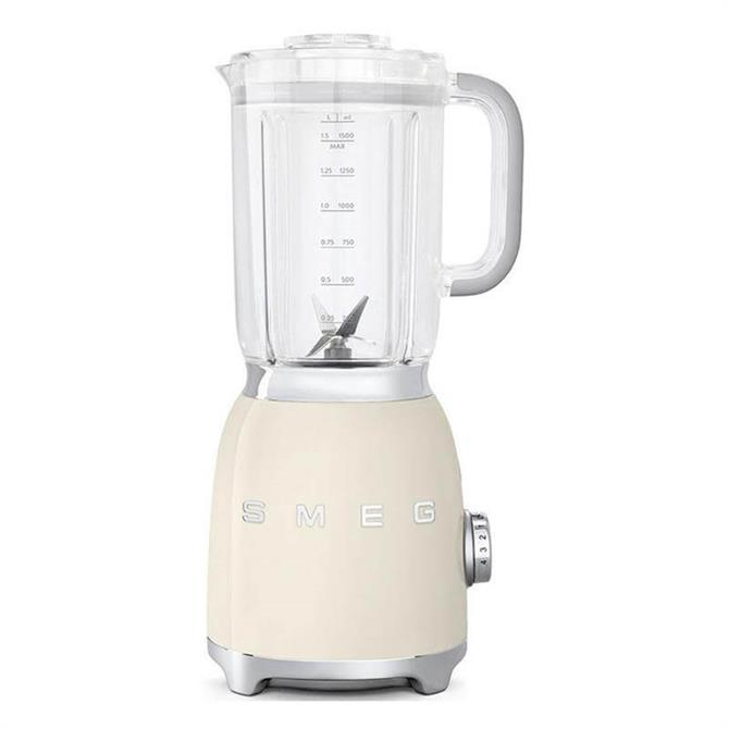 Smeg Retro Style Food Blender: Cream