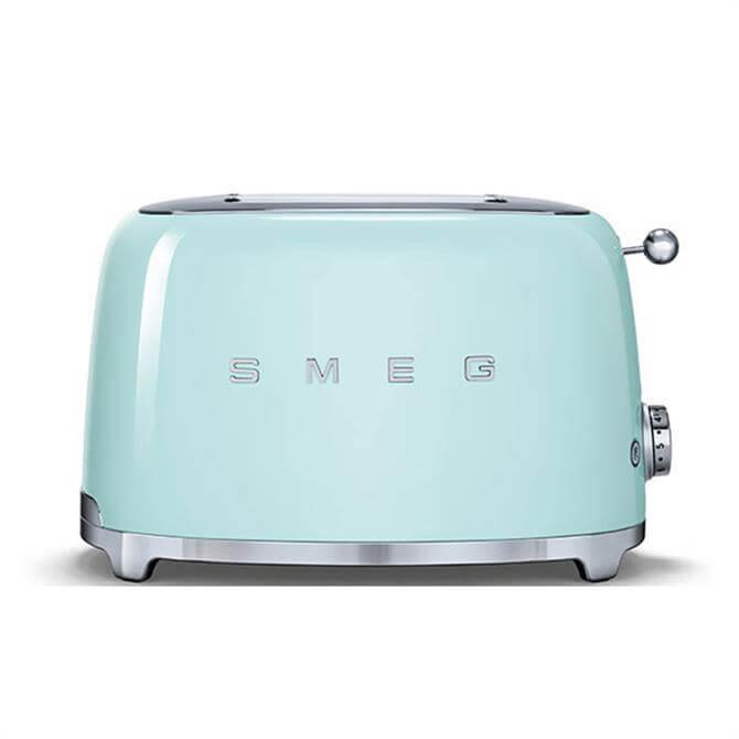Smeg 2 Slice Toaster: Pastel Green