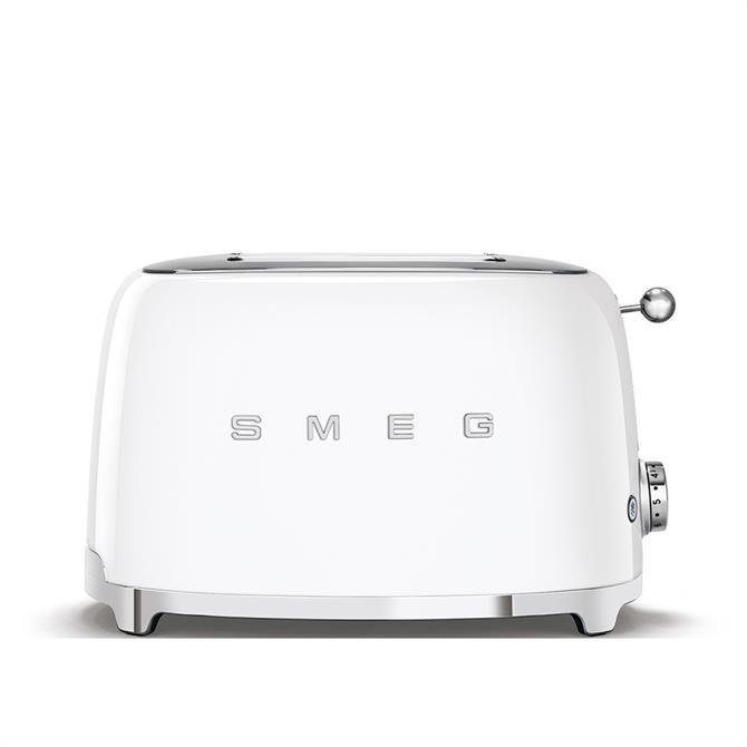 Smeg 2 Slice Toaster: White