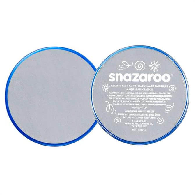 Snazaroo Light Grey Face Paint 18ml