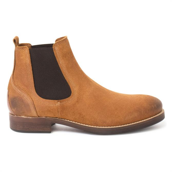 Sneaky Steve Ribald Whiskey Suede Chelsea Boots