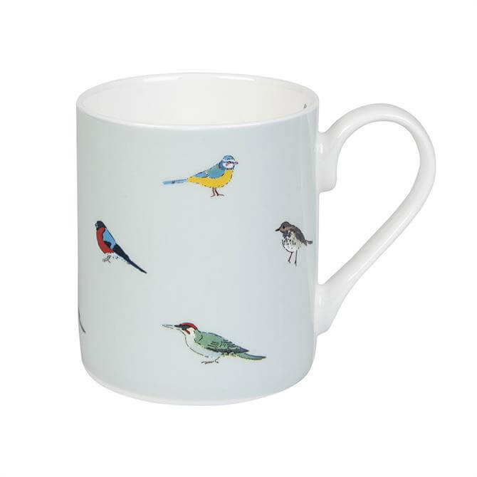 Sophie Allport Garden Birds Mug: Coloured
