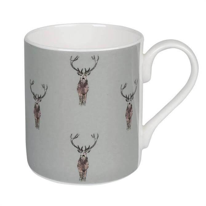 Sophie Allport Highland Stag Coloured Mug