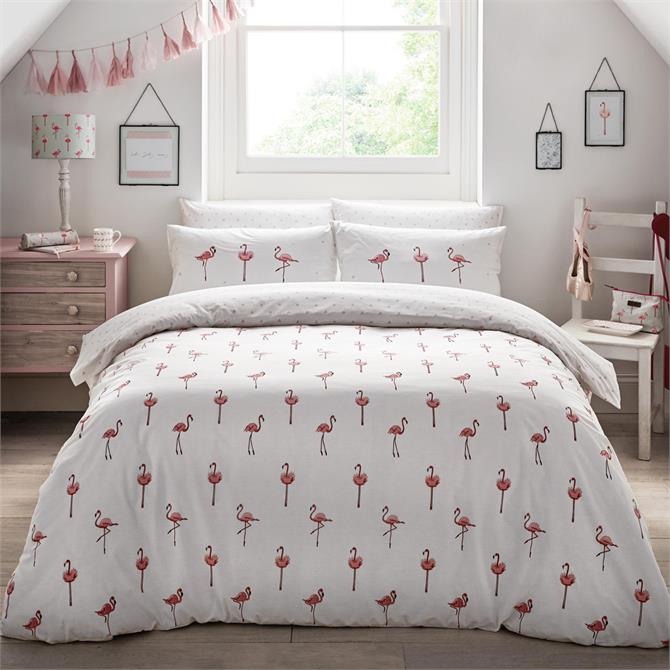 Sophie Allport Flamingo Duvet Cover Set