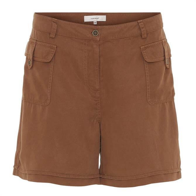 Soyaconcept Silver Cargo Shorts