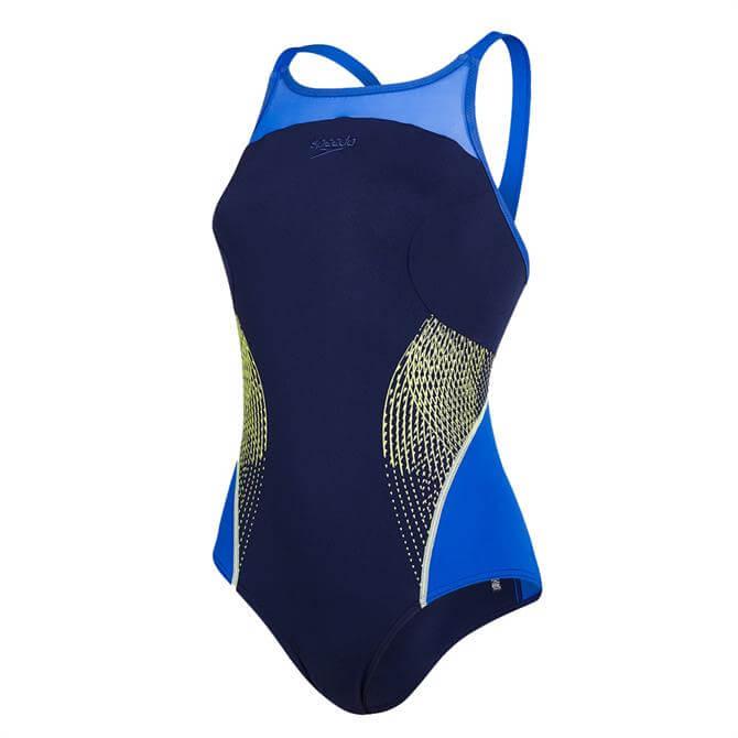 Speedo Women's Fit Splice Xback Swimsuit
