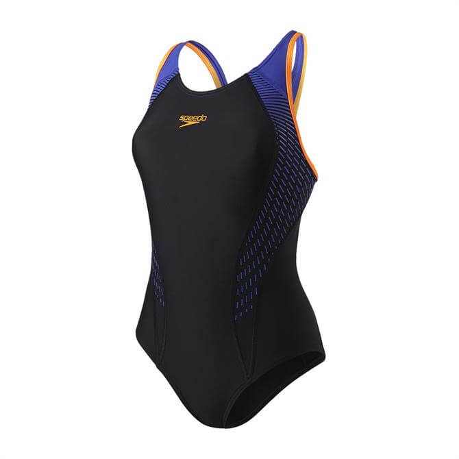 Speedo Women's Fit Laneback Swimsuit
