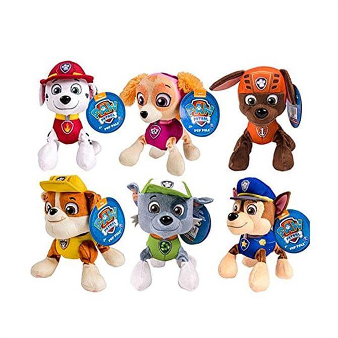 Paw Patrol Pup Pals Soft Toy Assortment
