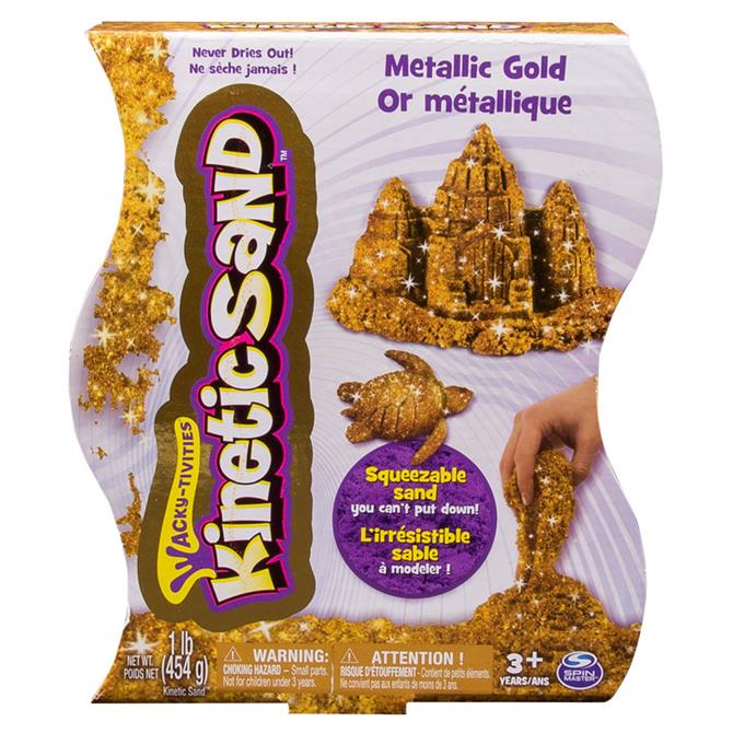 Kinetic Sand Metallic Silver or Gold - Assortment