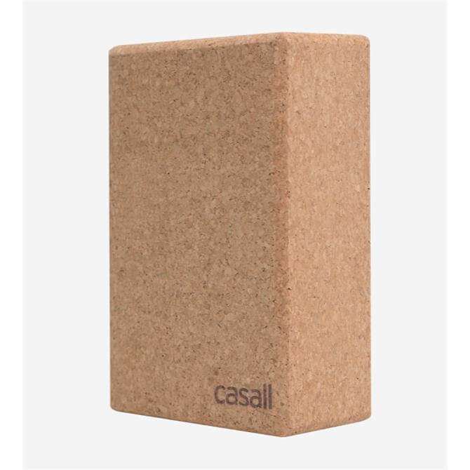 Casall Cork Slim Yoga Block Natural