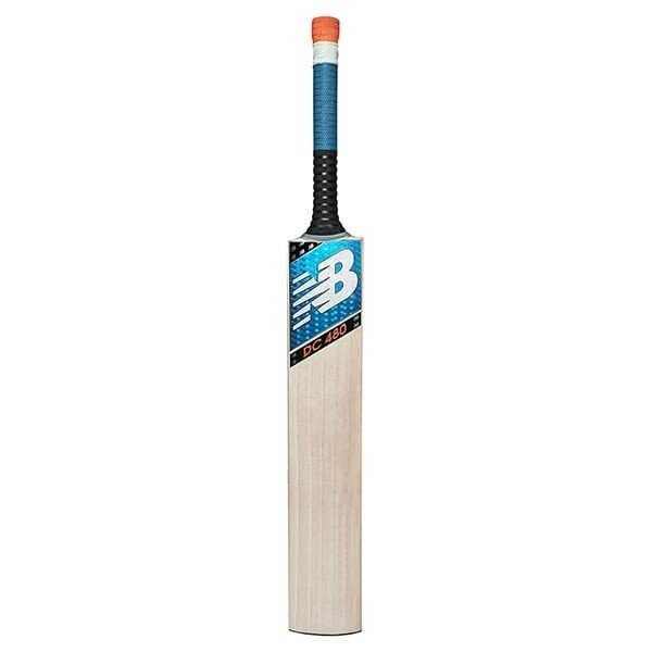 An image of New Balance DC480 2020 Cricket Bat - HARROW, BLUE/BLACK