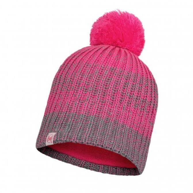 Buff Knitted & Fleece Hat Gella