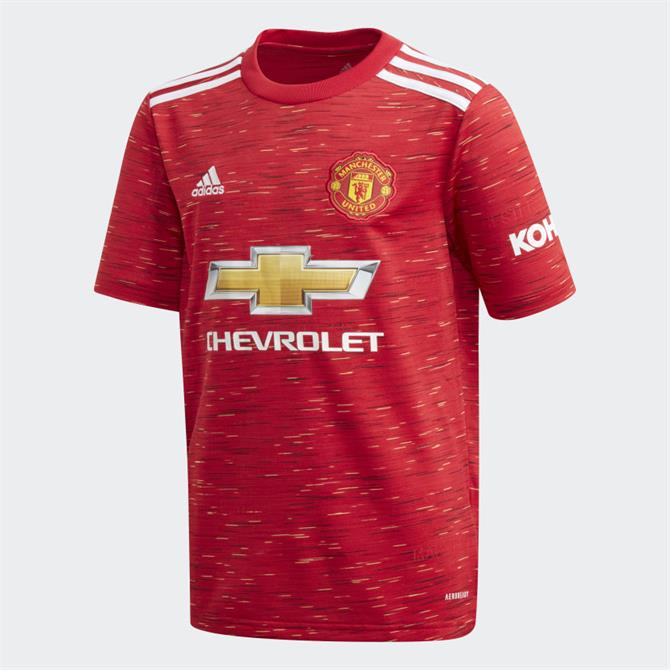Adidas Manchester United Replica Home Jersey Youth