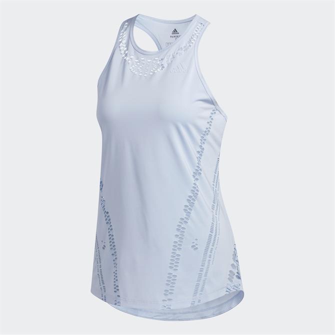 Adidas Prime Blue Womens Tank Top