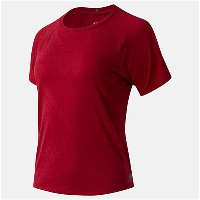 New Balance Womens Q Speed Jacquard Short Sleeve Tee