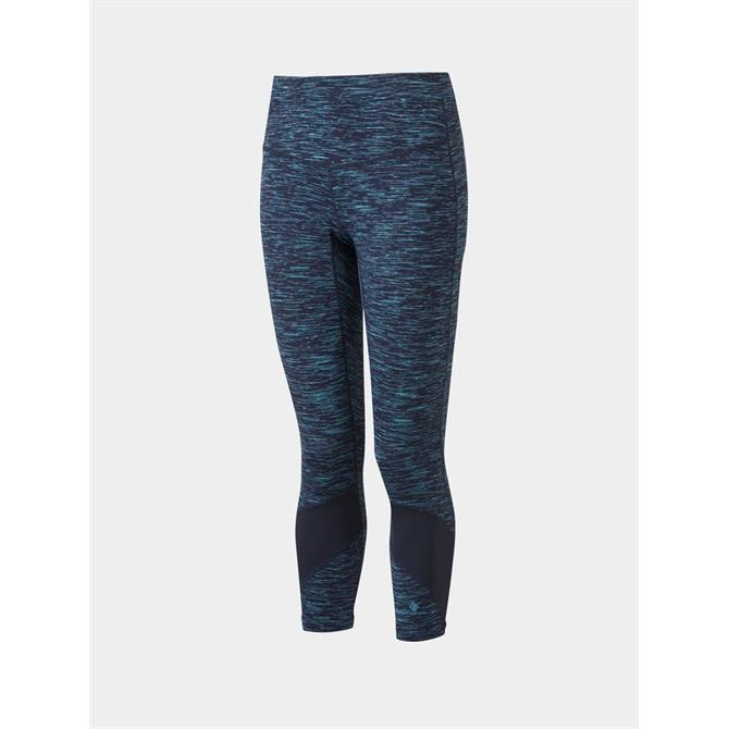 Ronhill Womens Life Spacedye Crop Running Tight