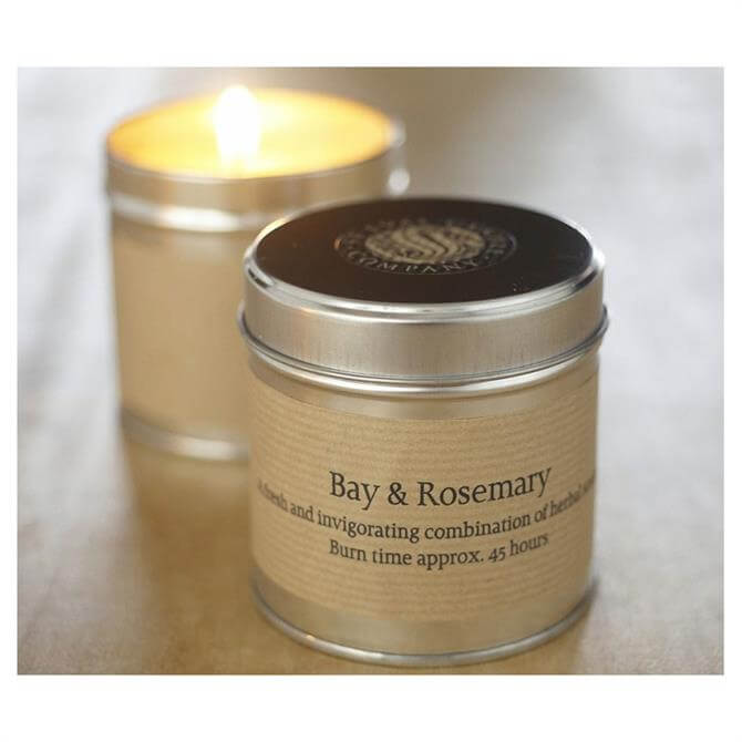 St Eval Candle Tin Bay and Rosemary