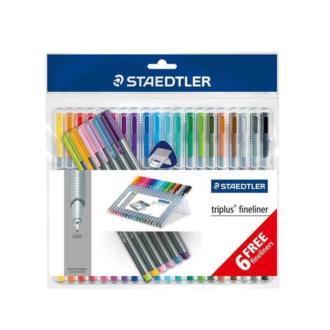 Staedtler Triplus Fineliner 20 Pack