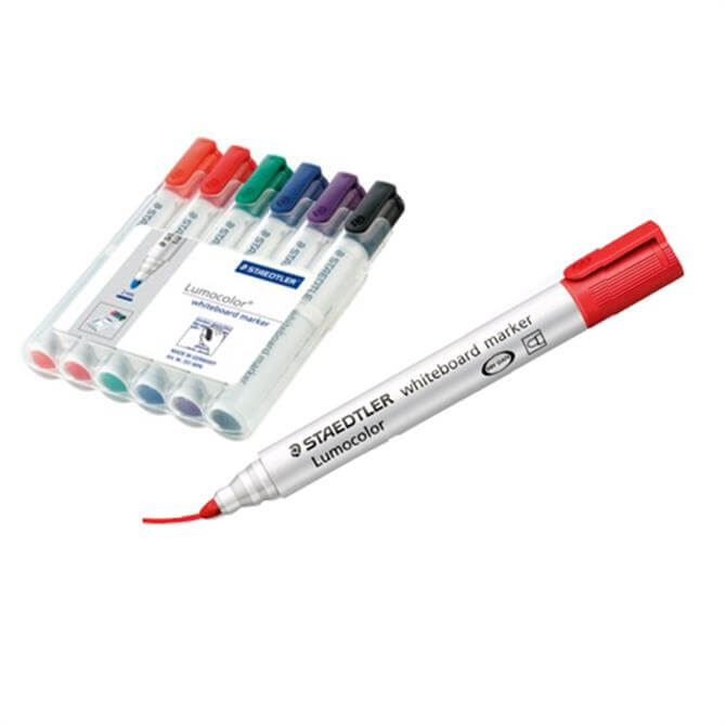 Staedtler Lumocolour Whiteboard Marker - Set of 6