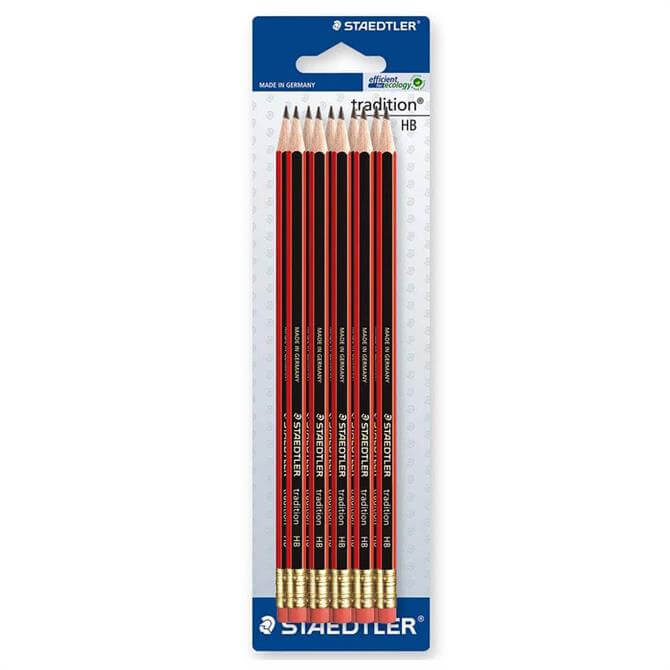 Staedtler Traditional Pencil HB Pack of 10 with Eraser