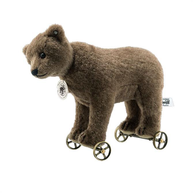 Steiff Bear on Wheels Replica 1904