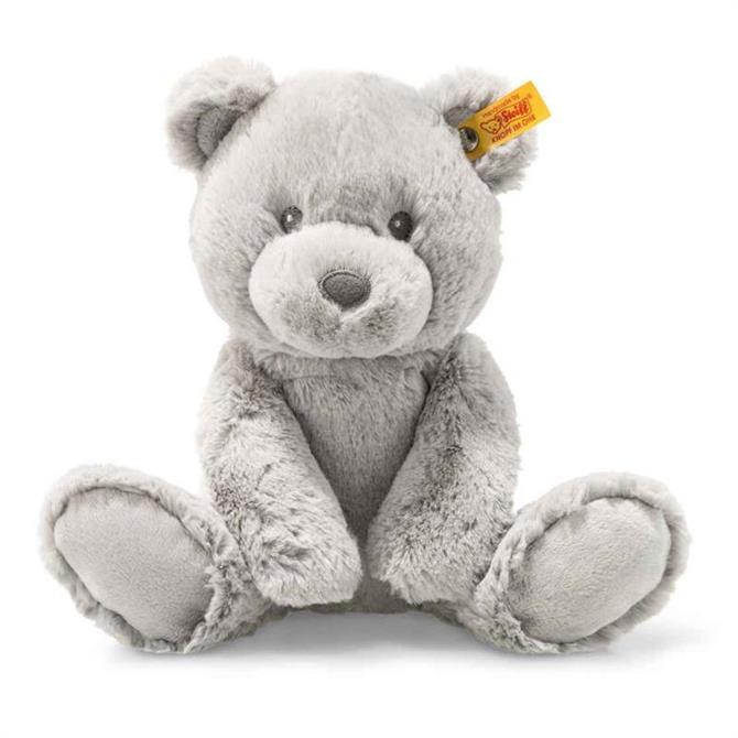 Steiff Soft Cuddly Bearzy Teddy Bear Grey