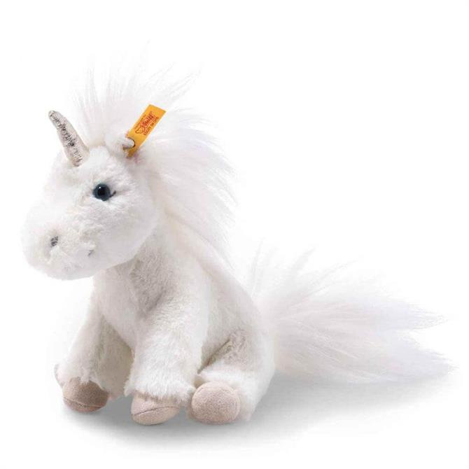 Steiff Soft Cuddly Friends Floppy Unica Unicorn 18cm