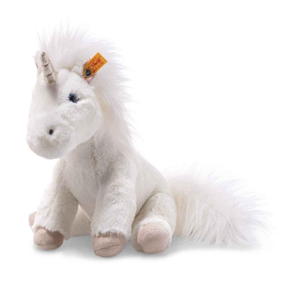 An image of Steiff Soft Cuddly Friends Floppy Unica Unicorn 25cm