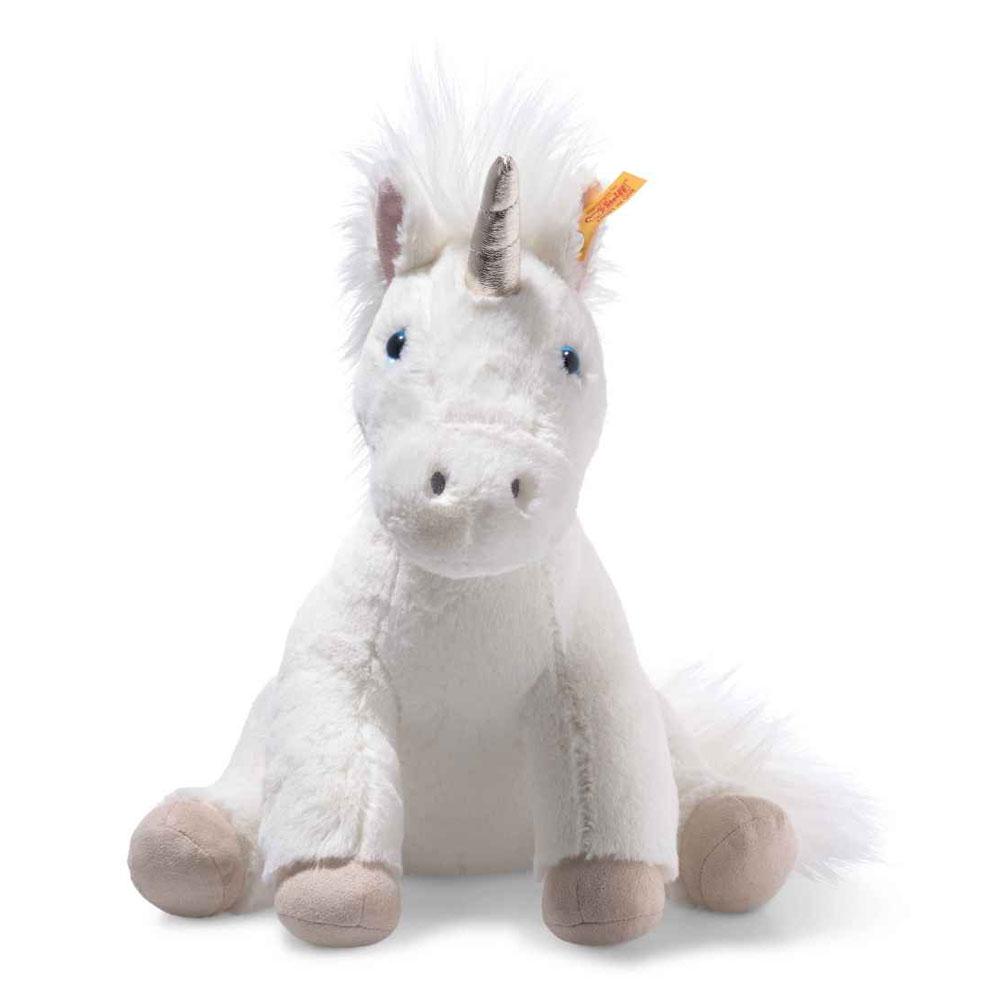 An image of Steiff Soft Cuddly Friends Floppy Unica Unicorn 35cm