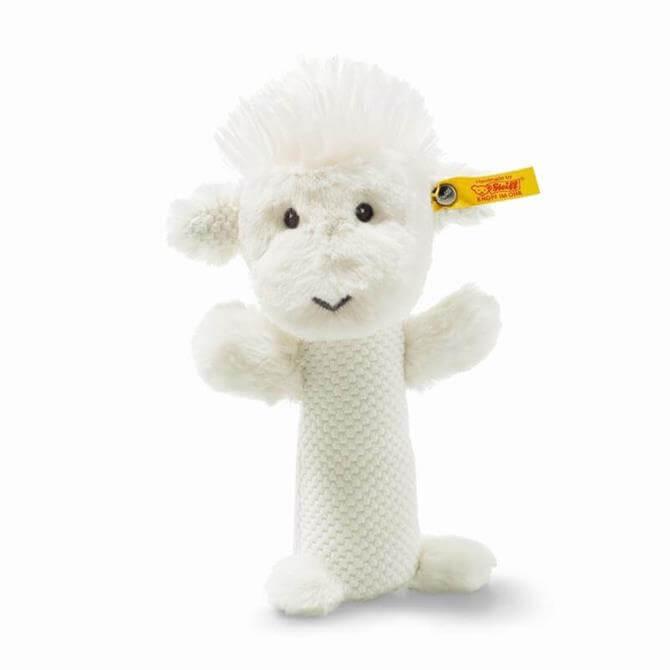 Steiff Wooly Lamb Rattle