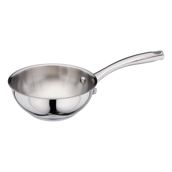 Stellar Stainless Steel Chef's Pan: 16cm