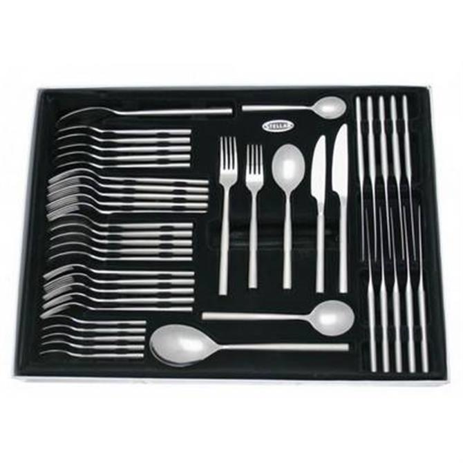 Stellar Rochester 44 Piece Polished Cutlery Set