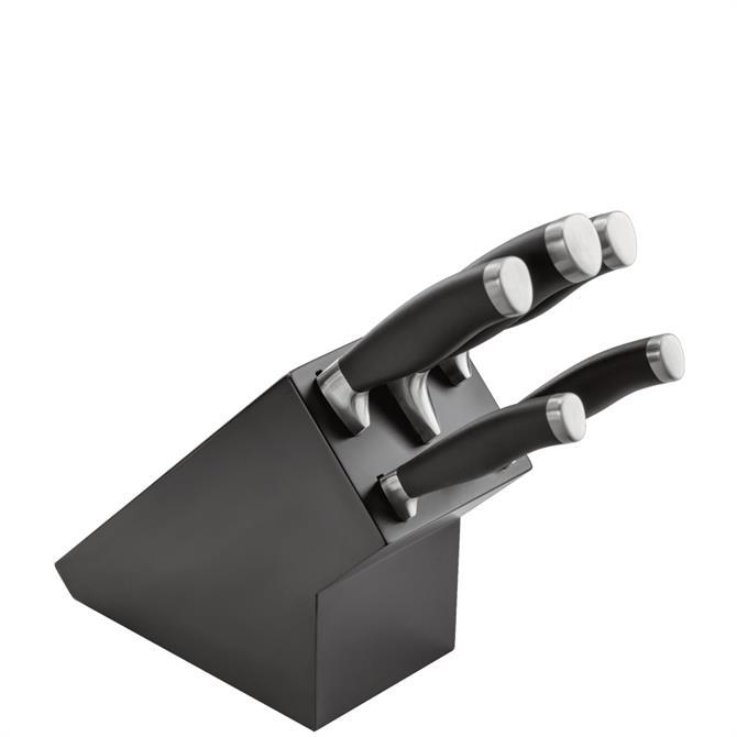 Stellar James Martin 5 Knife Block Set