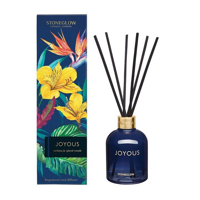 Stoneglow Joyous Verbena & Spiced Woods Reed Diffuser