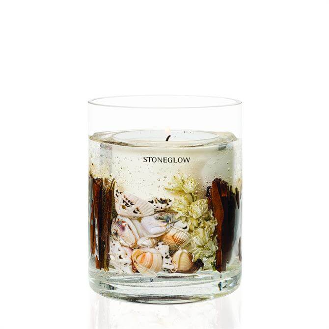 Stoneglow Flowers Natural Wax Gel Candle