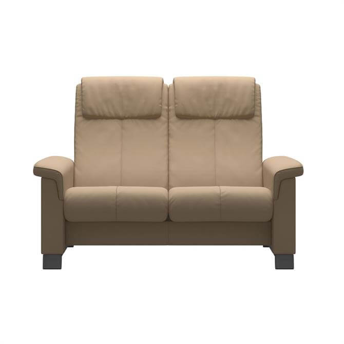 Stressless Breeze Two Seater Sofa In Paloma Leather
