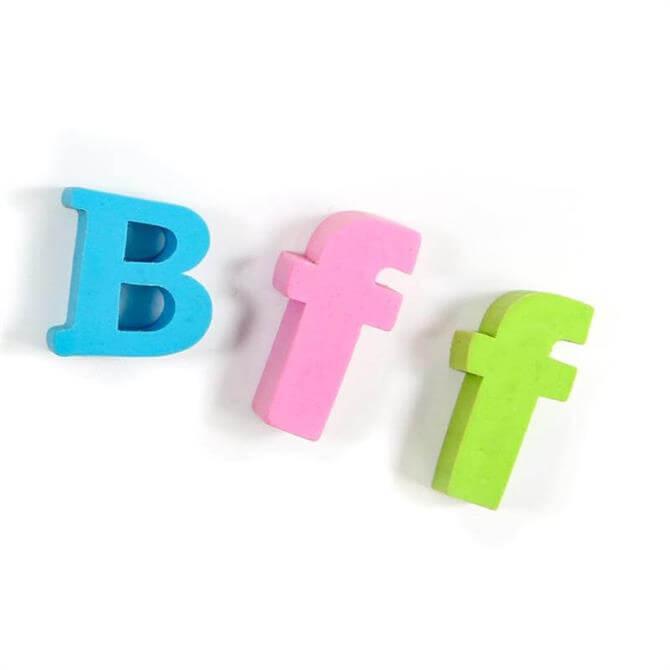 SUCK Text Speak BFF Eraser